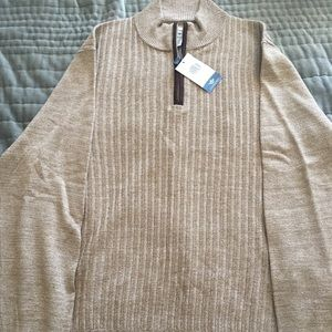 Men's Dockers Sweater ¼ Zip